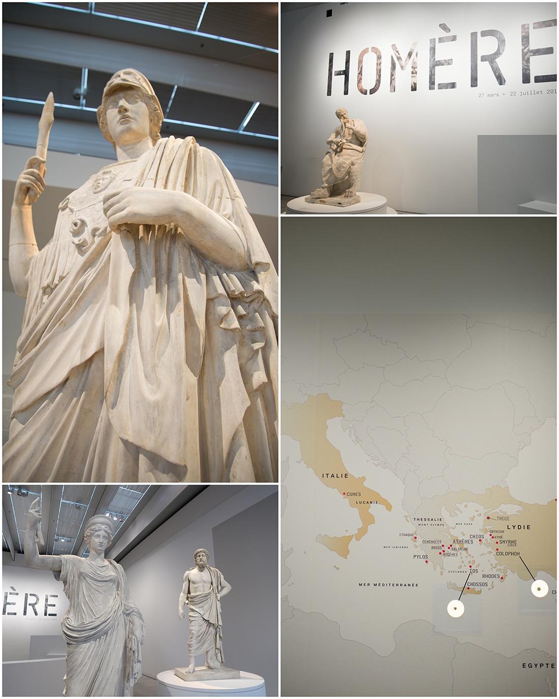 visite de l'exposition Homère, musée du louvre-Lens