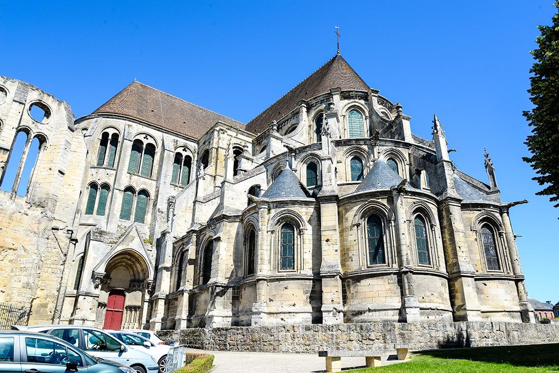 visite de la cathédrale de Noyon