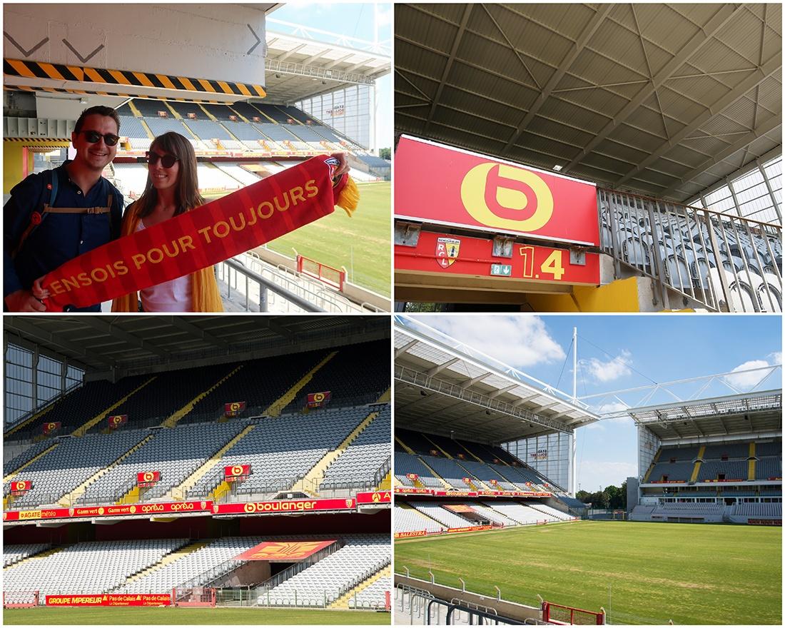 Visite du Stade Bollaert, Lens