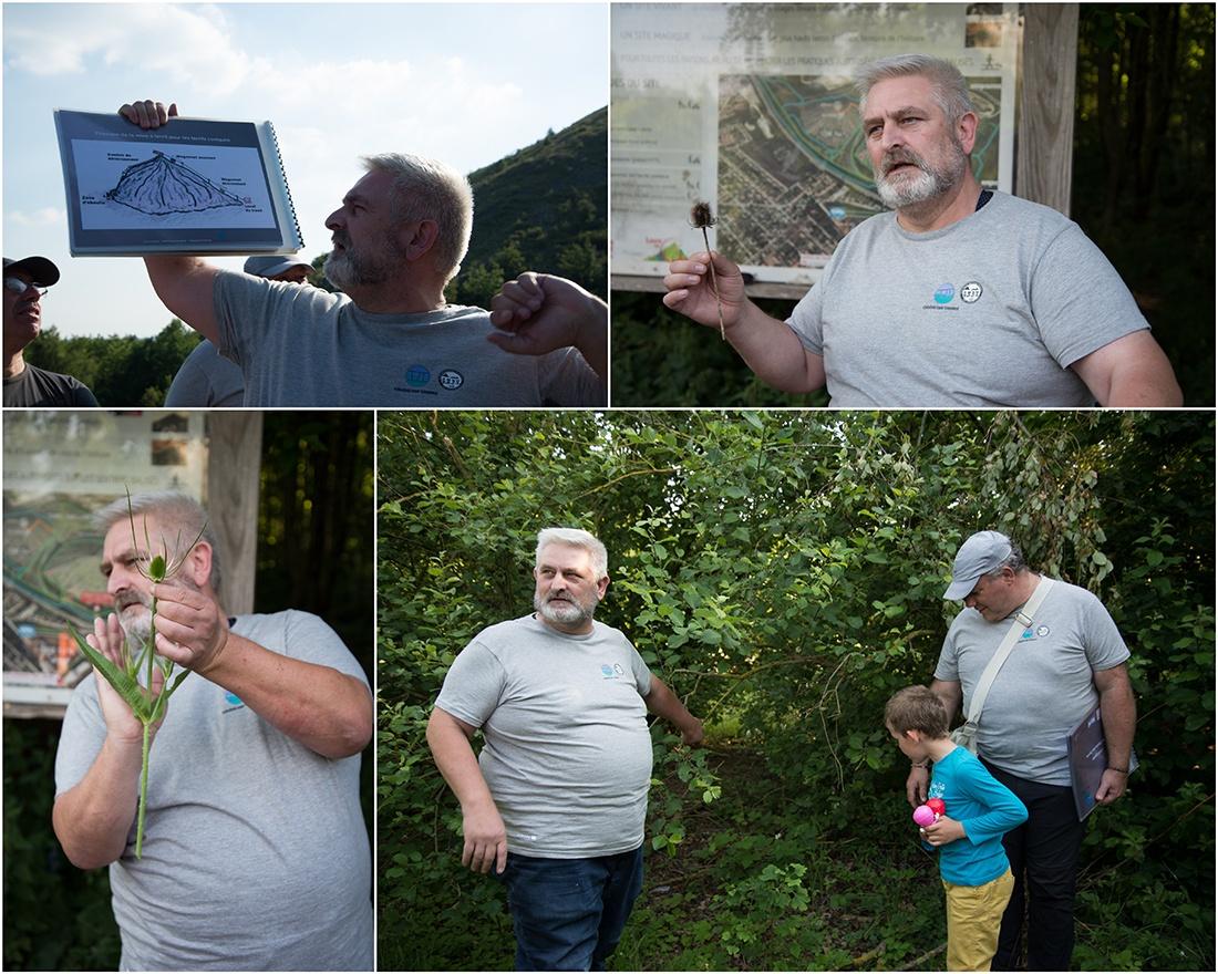 Visite des terrils de Loos-en-Gohelle, guide CPIE Chaîne des terrils