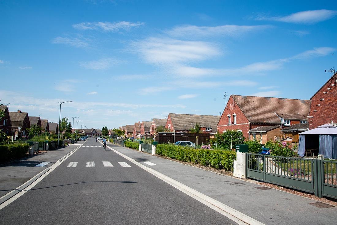 balade en vélo électrique au coeur des cités minières de Pecquencourt