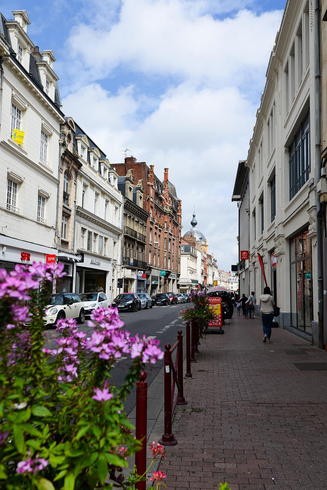 balade au centre-ville de Douai