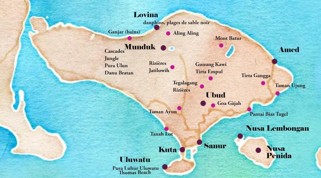Itinéraire Bali, 3 semaines, road-trip