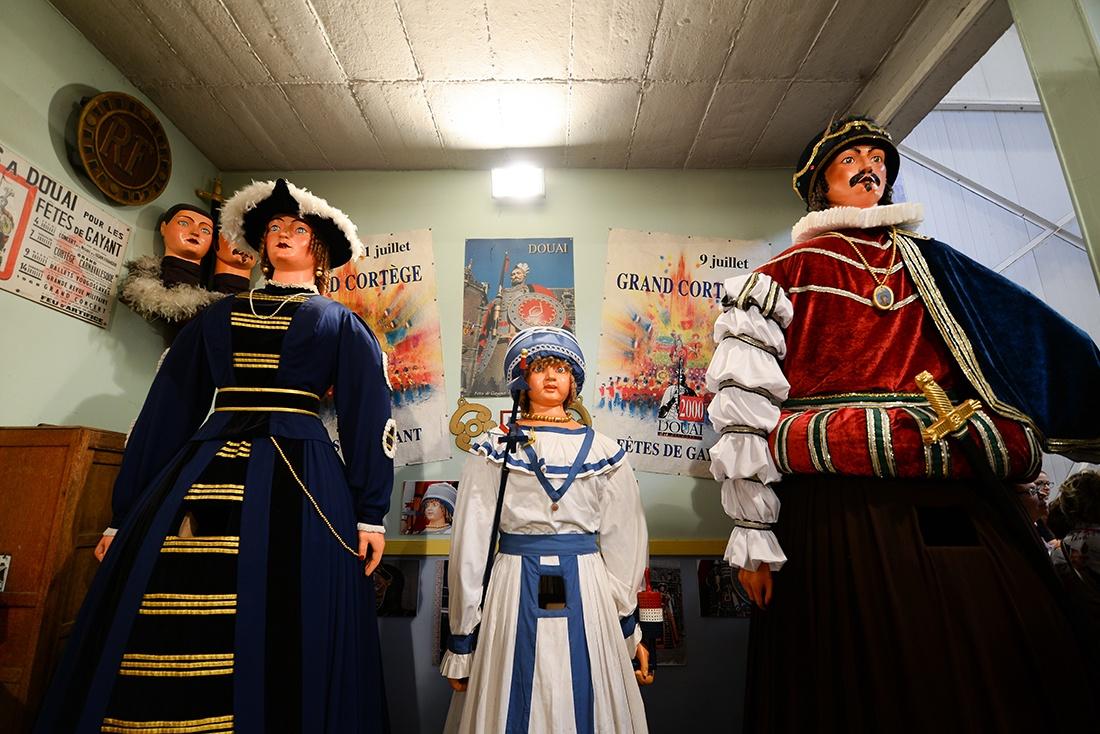 famille gayant, géants, Douai