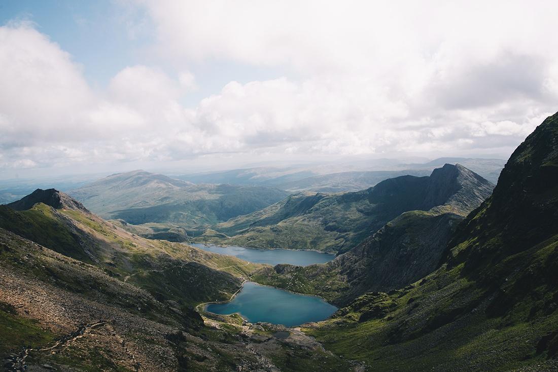 Mont Snowdon, Snowdonia, Pays de Galles