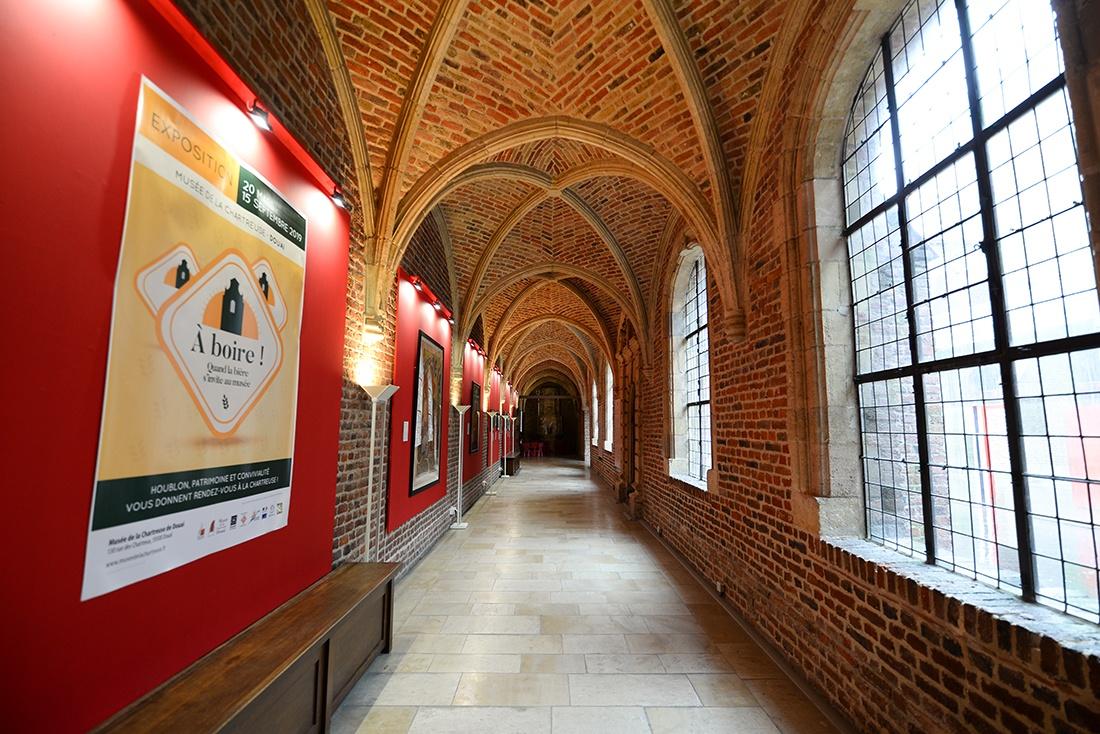 musee de la chartreuse, douai, exposition sur la bière