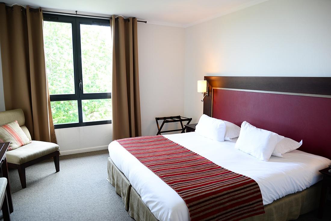 nuit à l'hôtel Najeti à Lumbres, hôtel du golf