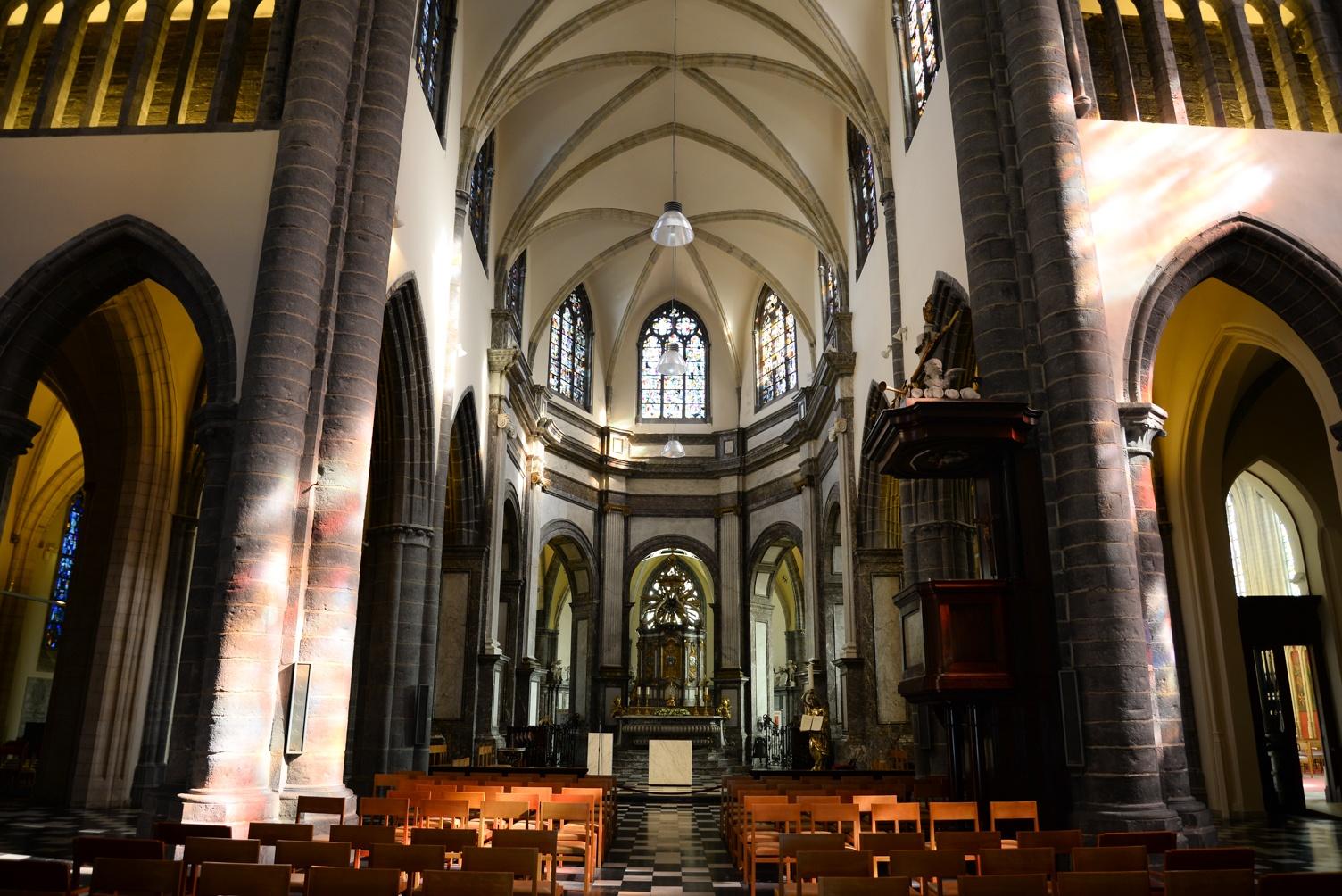 Notre-Dame, courtrai , belgique