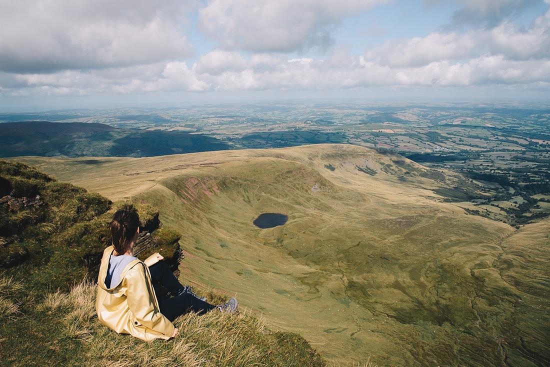 Pen-Y-fan, brecon Beacons, pays de Galles