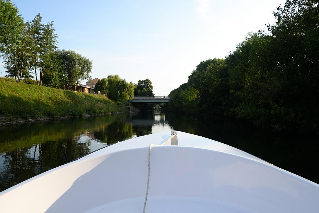 balade bateau électrique, sarthe, le mans