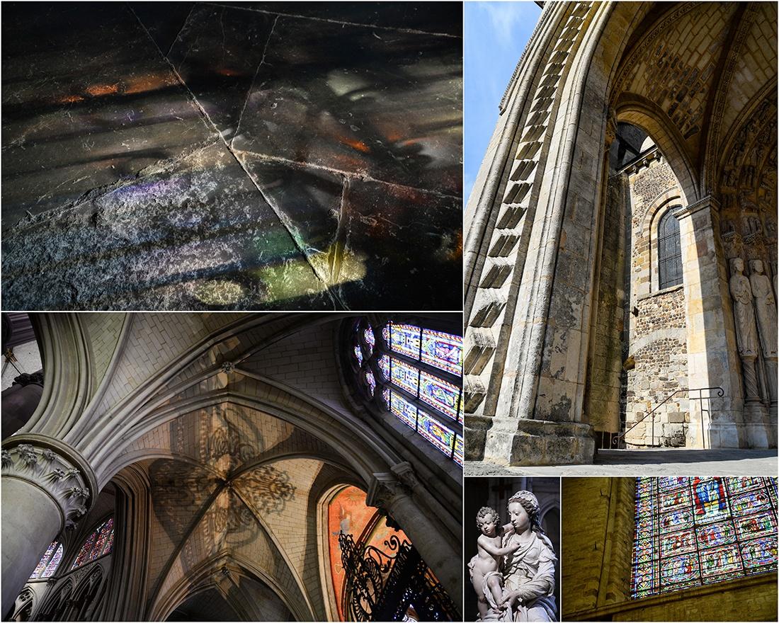 cathédrale saint-julien, le mans