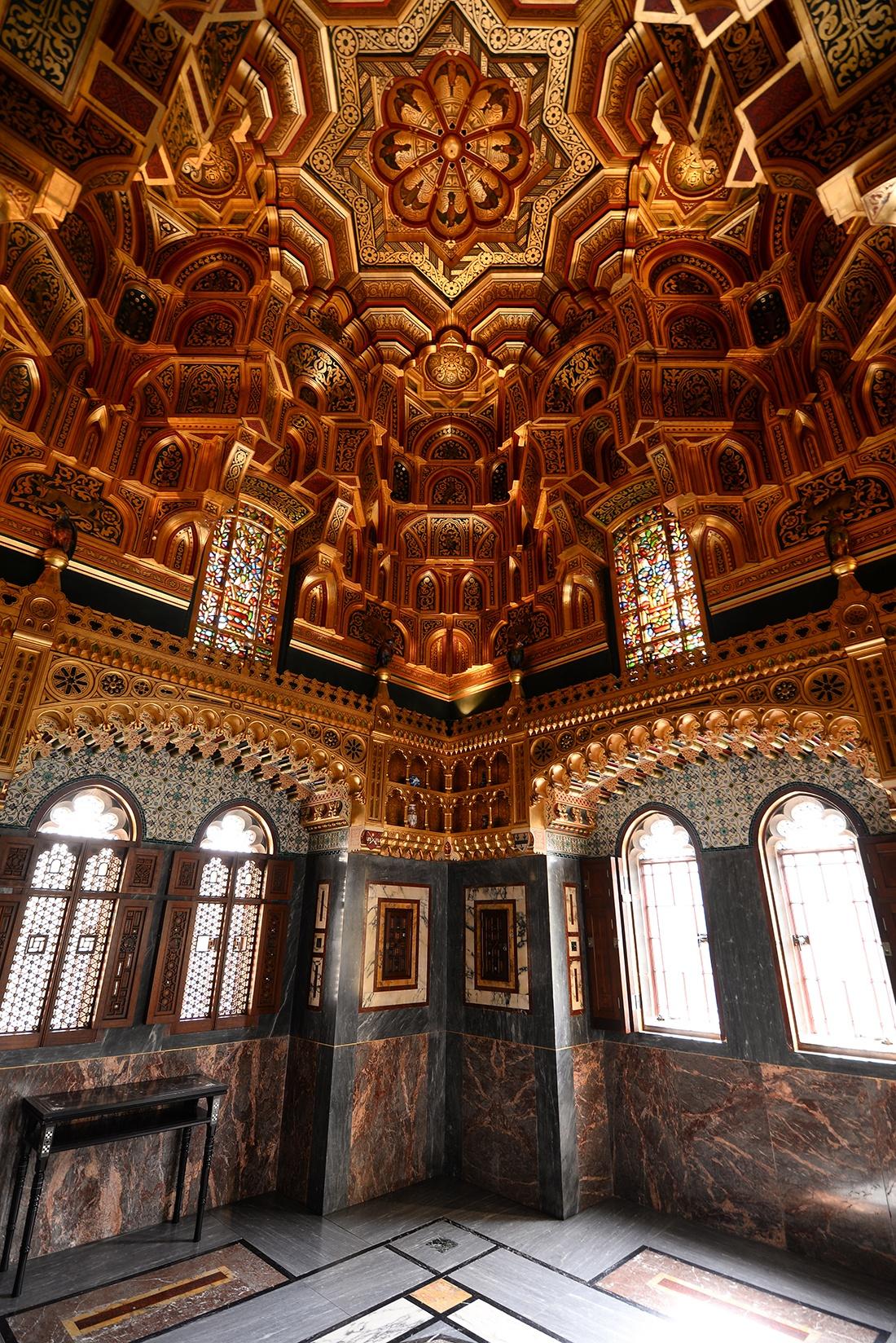 chambre arabe, cardiff, château