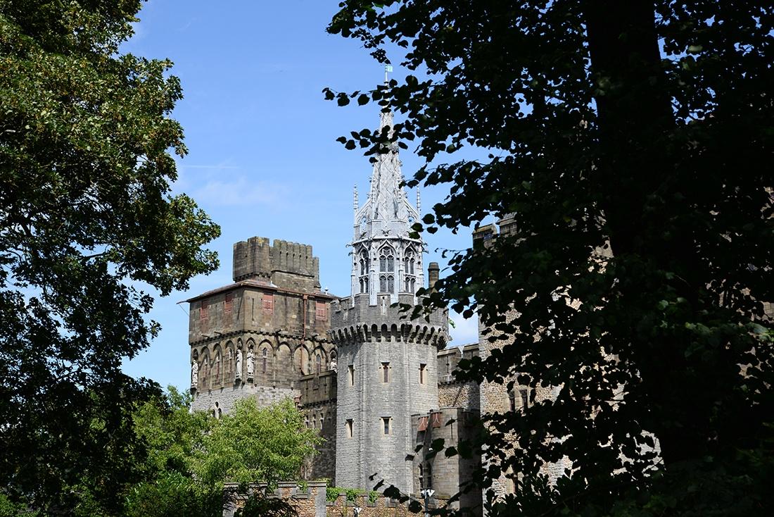 château de cardiff, visite