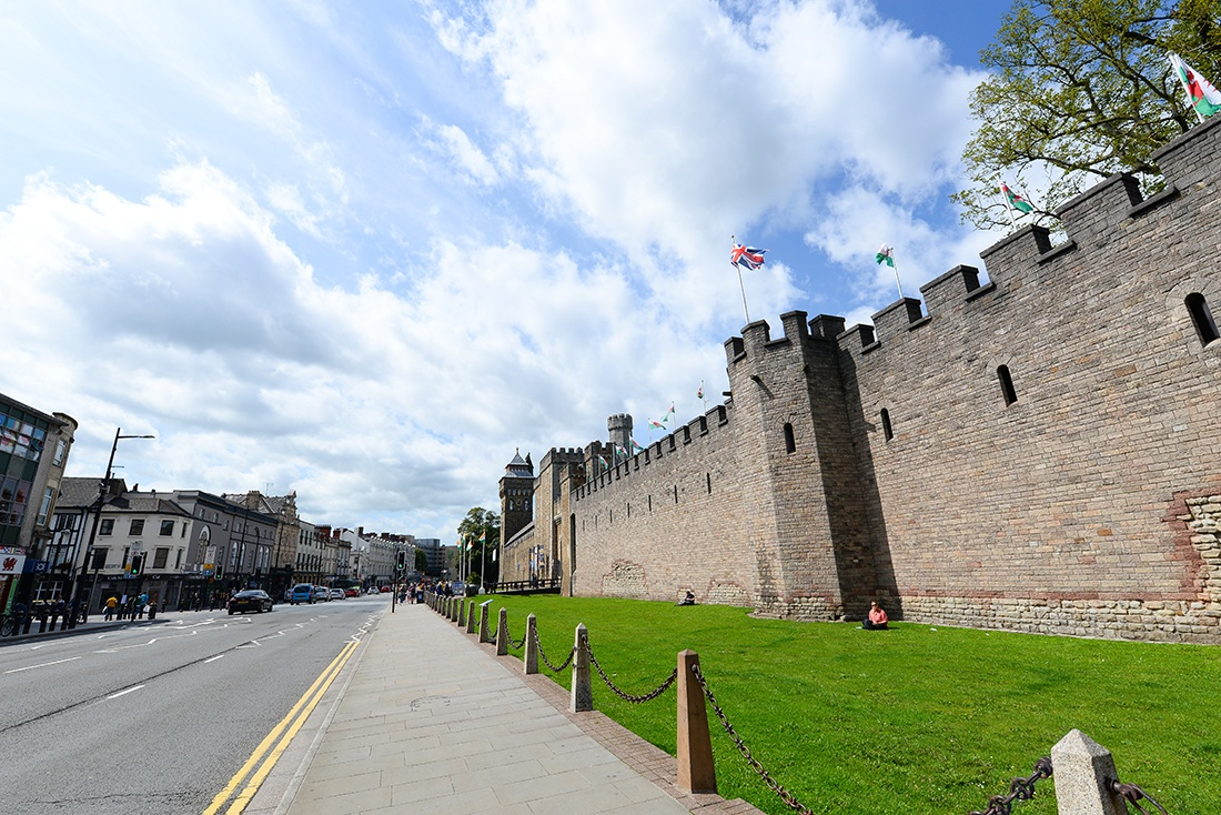 château de cardiff , visite, pays de galles