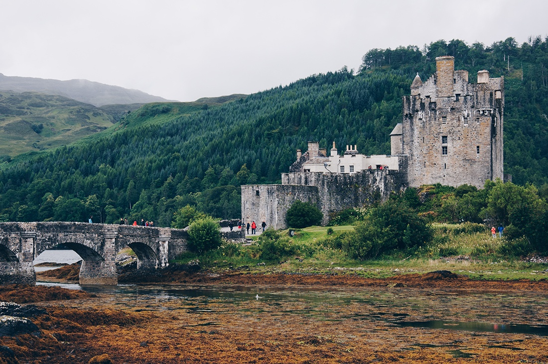 eilean donan castle, ecosse