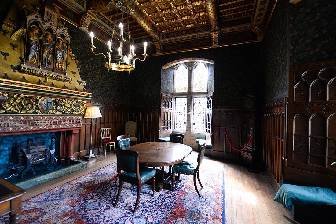 intérieur château de cardiff