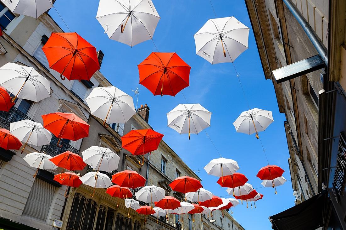 parapluies, le mans