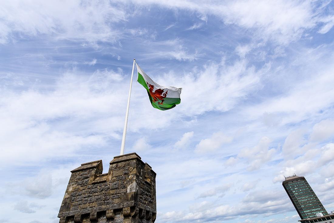 visite du château de Cardiff, pays de galles