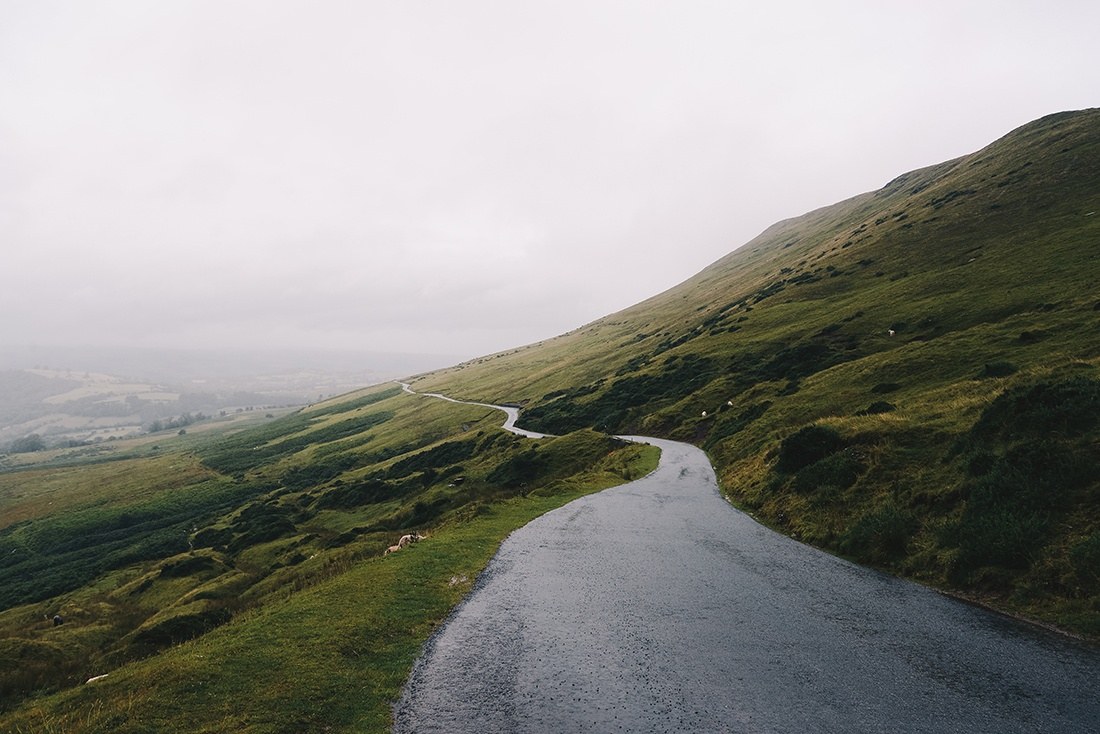 routes, brecon beacons, pays de galles