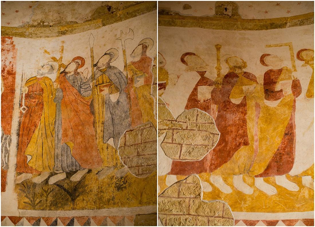 fresques de Saint-André, Lot