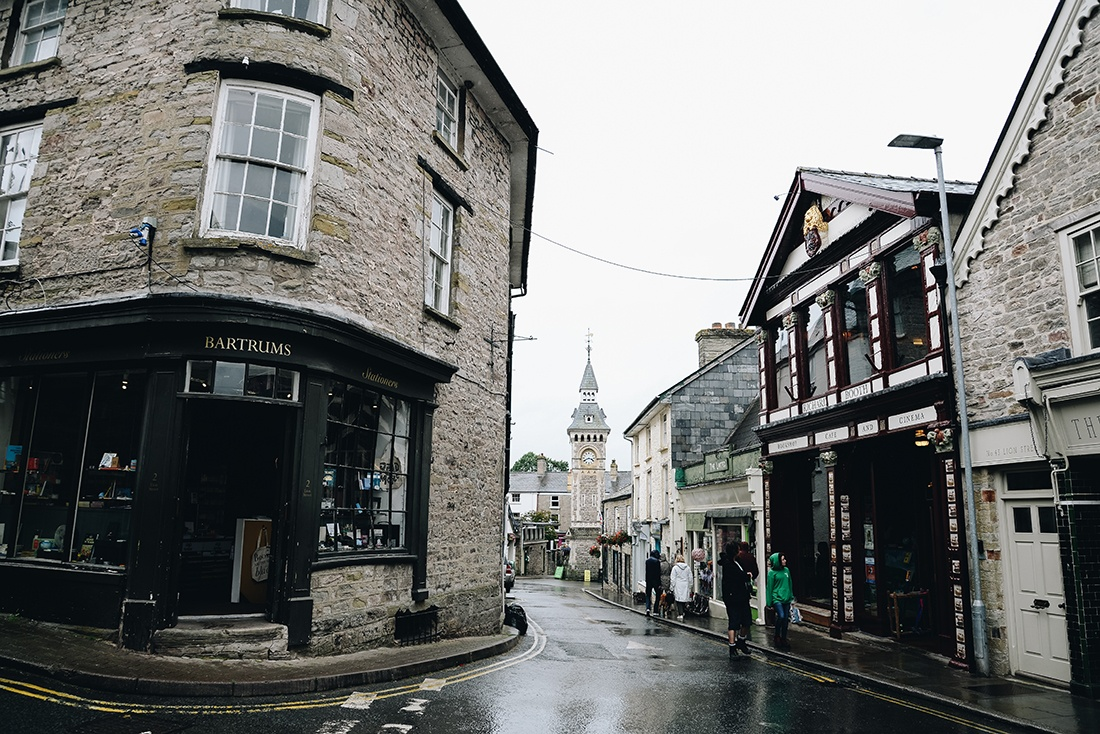 village de Hay-on-Wye, brecon beacons, pays de galles
