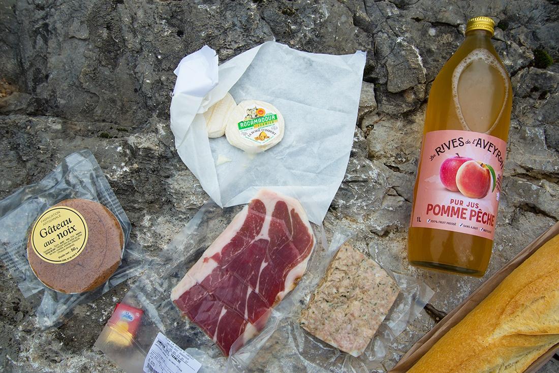 panier repas ferme de la Borie d'Imbert