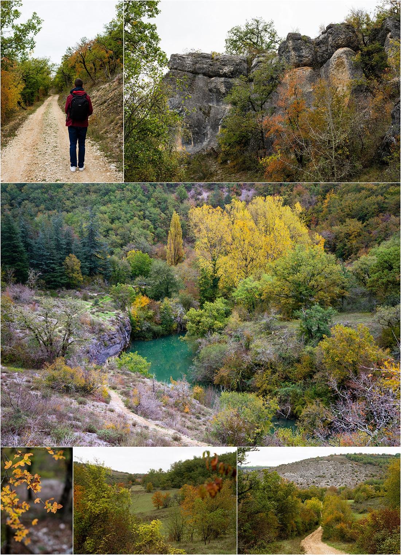 randonnée des vallées de l'Ouysse et de l'Alzou, Lot