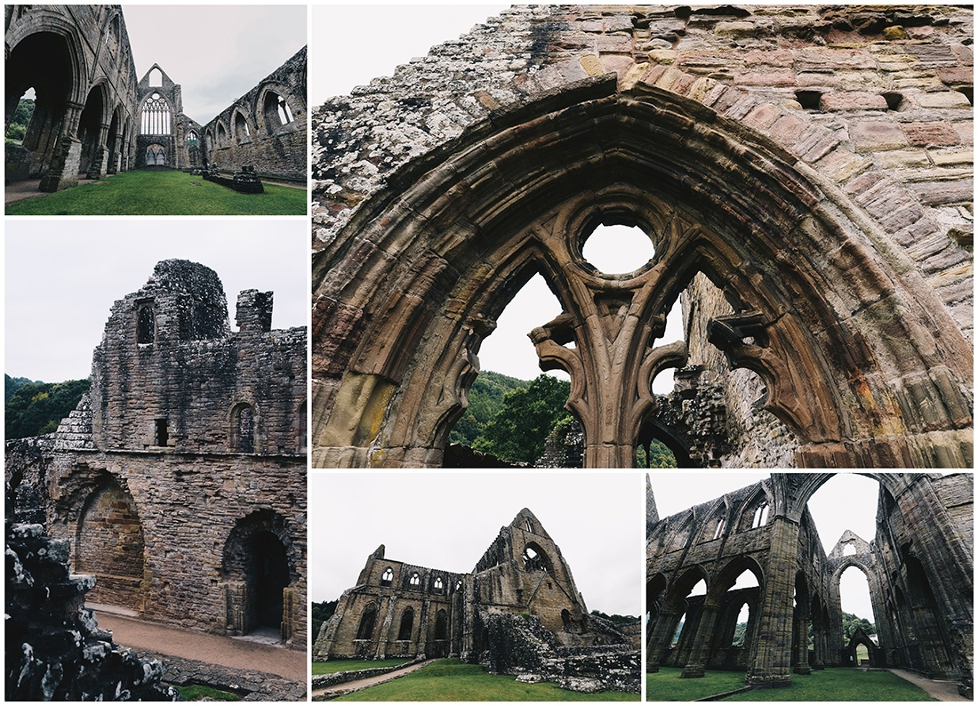 tintern abbey, pays de galles