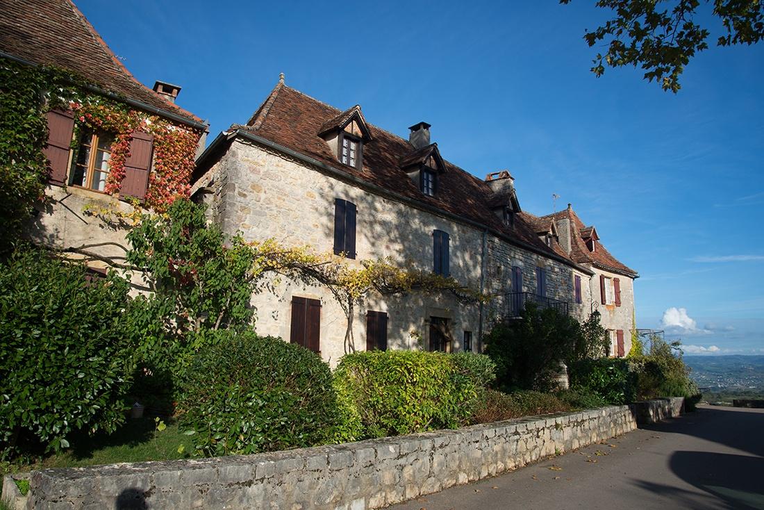 visite de Loubressac, lot, plus beau village de France