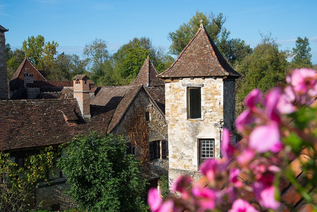 visite de carennac, lot, plus beau village de France