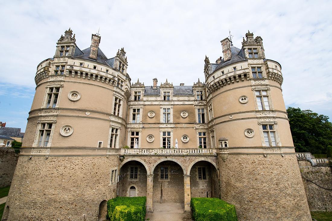 visiter le château du lude, sarthe