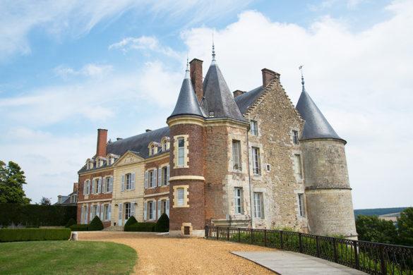 visiter le château de Montmirail, sarthe