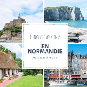 idées de week-ends en normandie