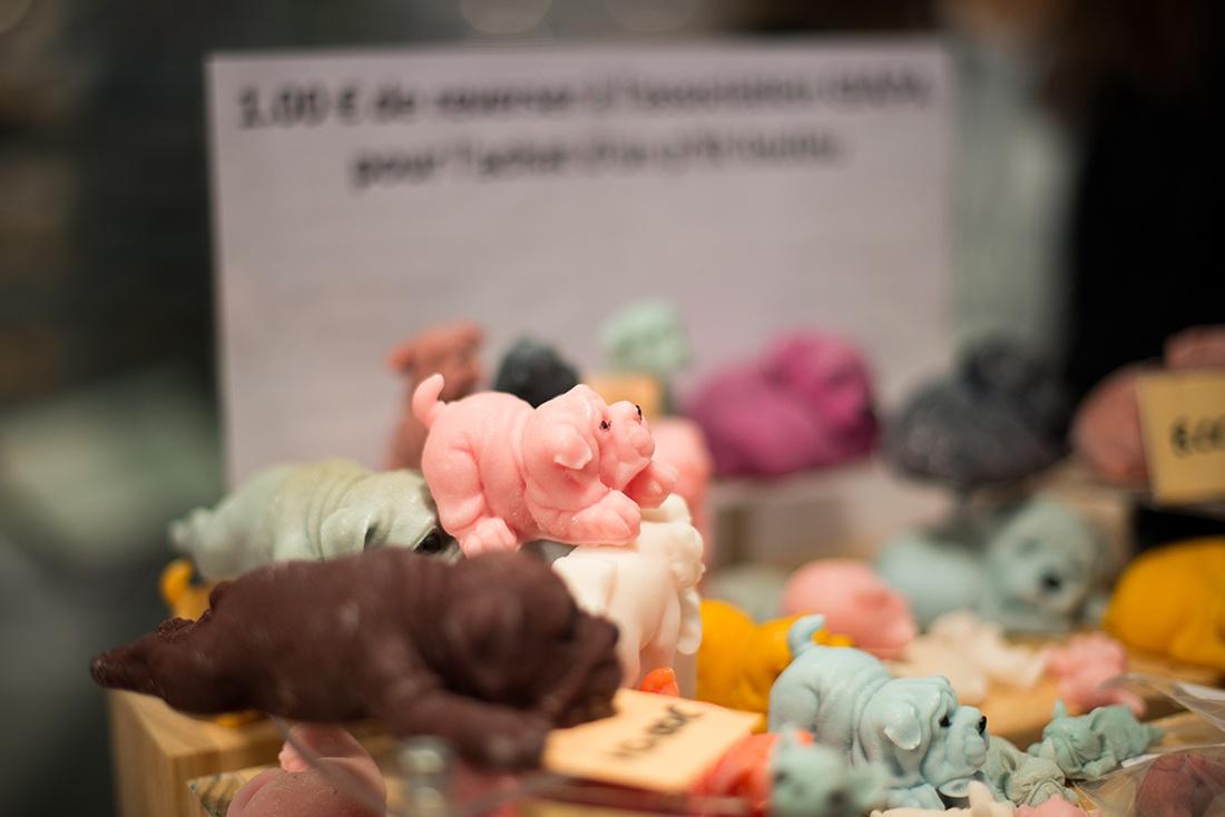 lueurs parfumées, marché de Noël d' Amiens