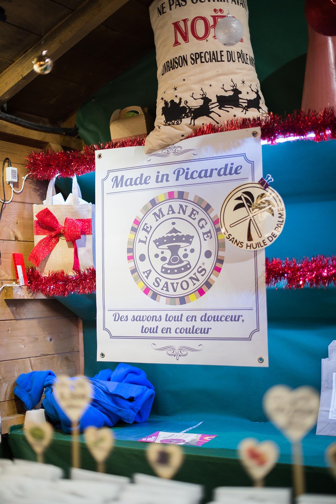 savonnerie des hauts-de-france, marché de Noël d'Amiens