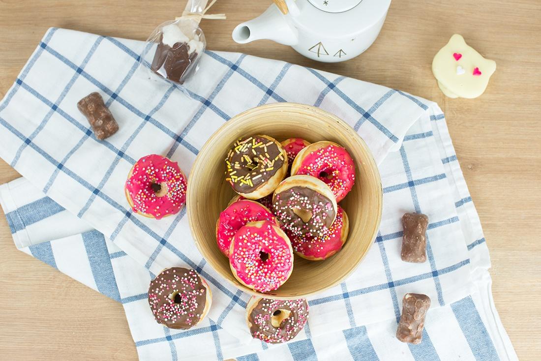 recette de donuts pour le goûter , snack collection