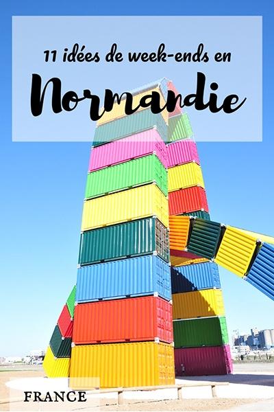 idees de week-ends en normandie