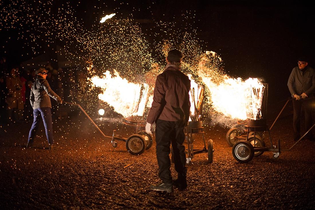 spectacle Pyromènes, Sainte-Barbe, Lens