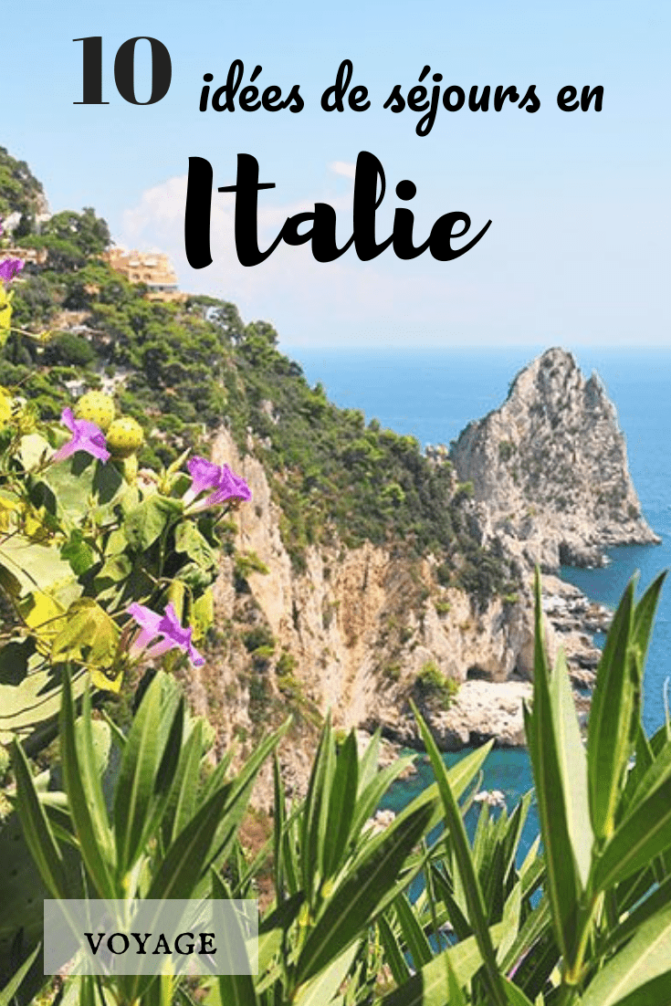 10 idées de séjours où se rendre l'été en Italie