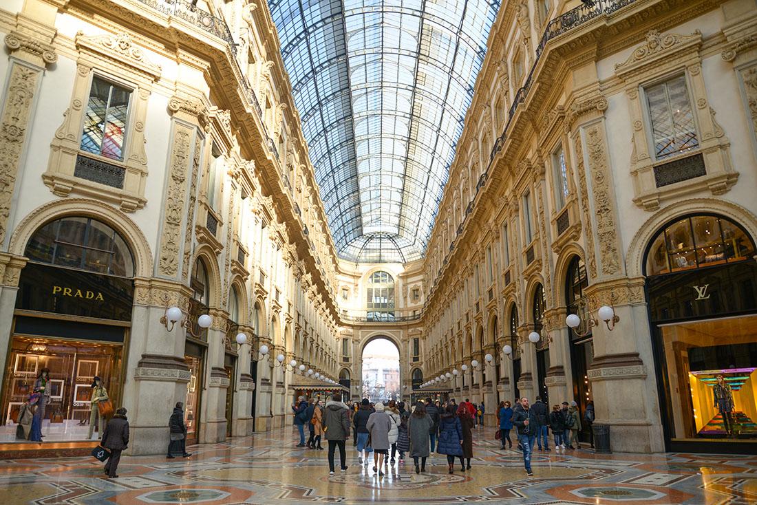 Galleria Vittorio Emmanuele, milan