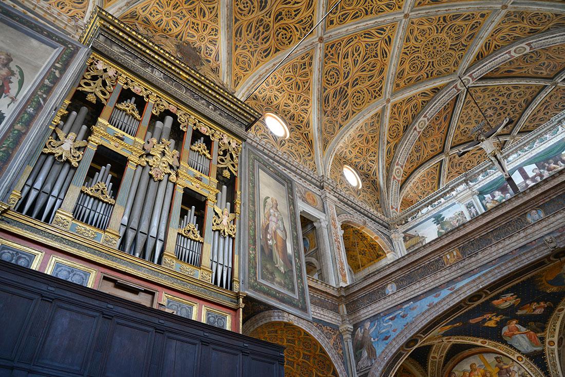 'Eglise San Maurizio al Monastero Maggiore, week-end à milan