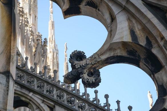 visite des terrasses du duomo, week-end à milan