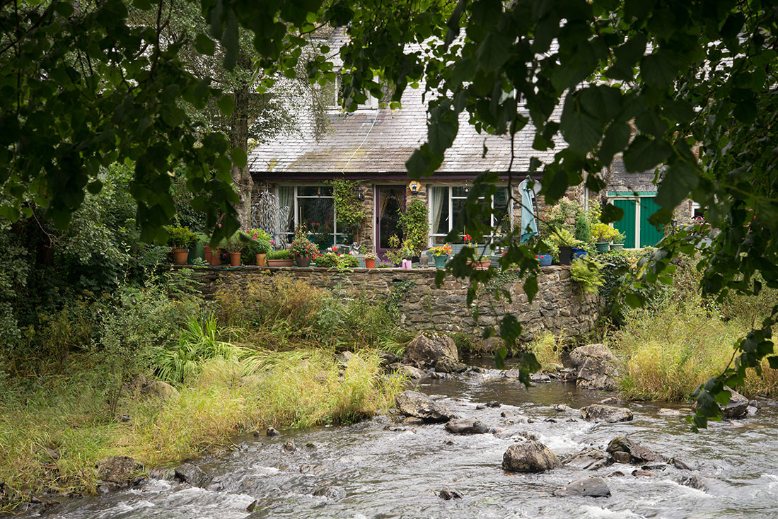 visite du village de beddgelert, pays de galles, snowdonia