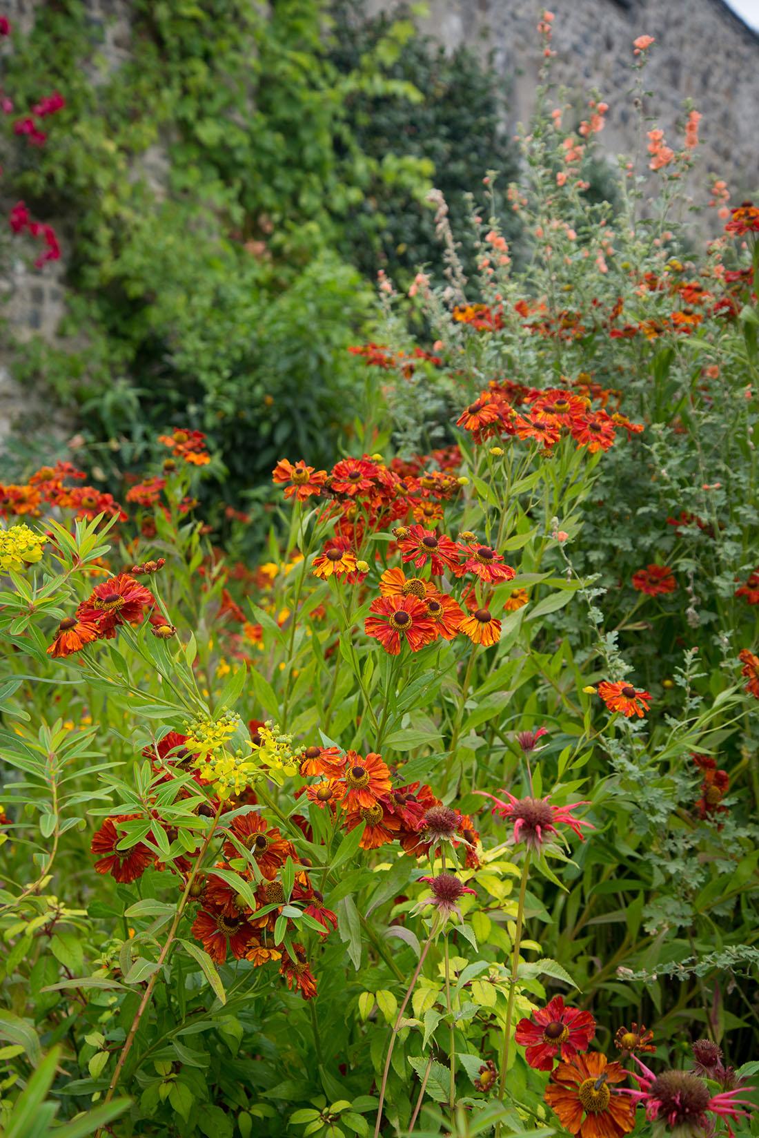visite des jardins de bodnant gardens,, pays de galles, snowdonia