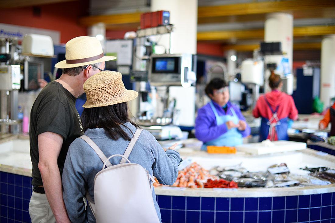 marché de lagos, road-trip en Algarve , Portugal