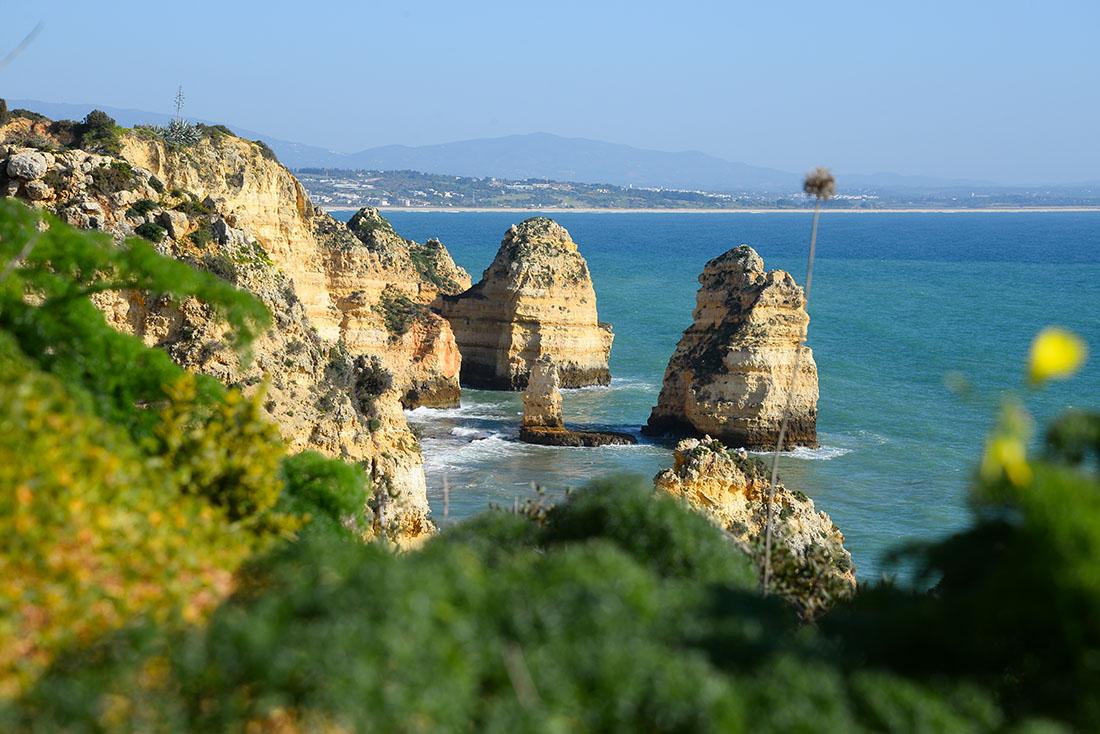 Ponta da Piedade, Lagos , road-trip en Algarve, Portugal