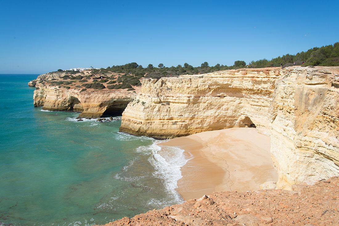 Praia Benagil, road-trip en Algarve , Portugal
