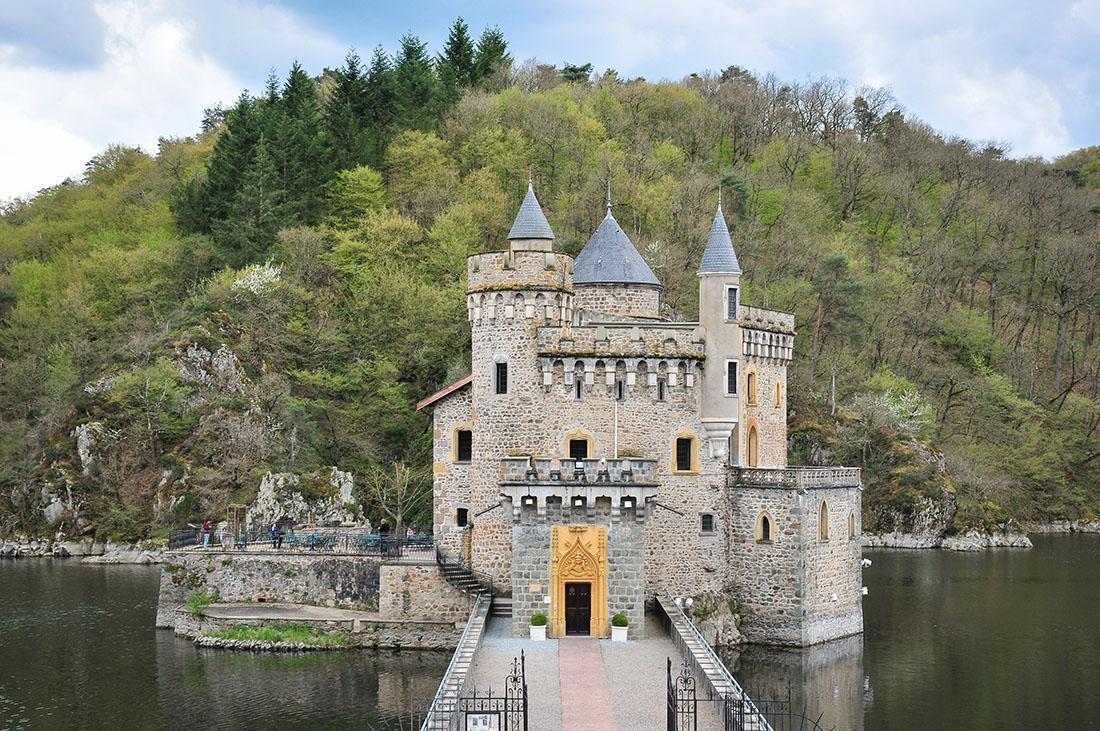 visite du château de la Roche, Loire