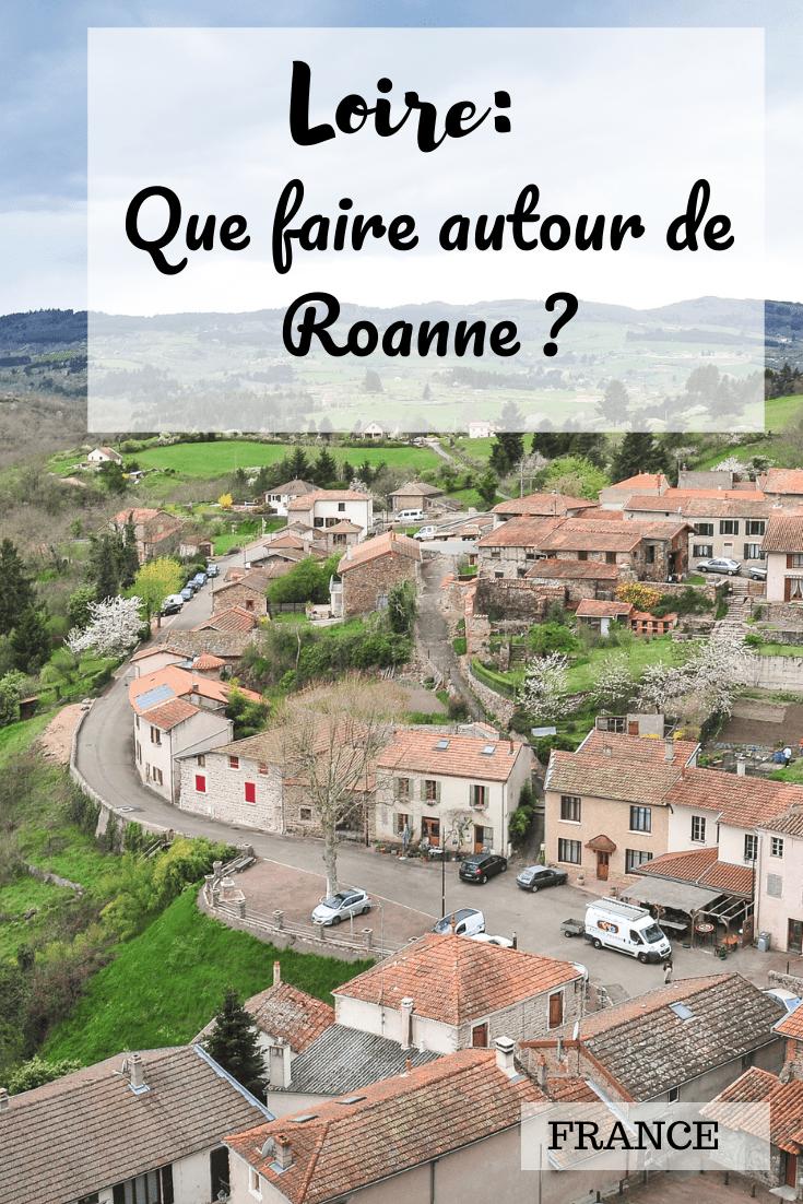 que faire dans la Loire autour de Roanne