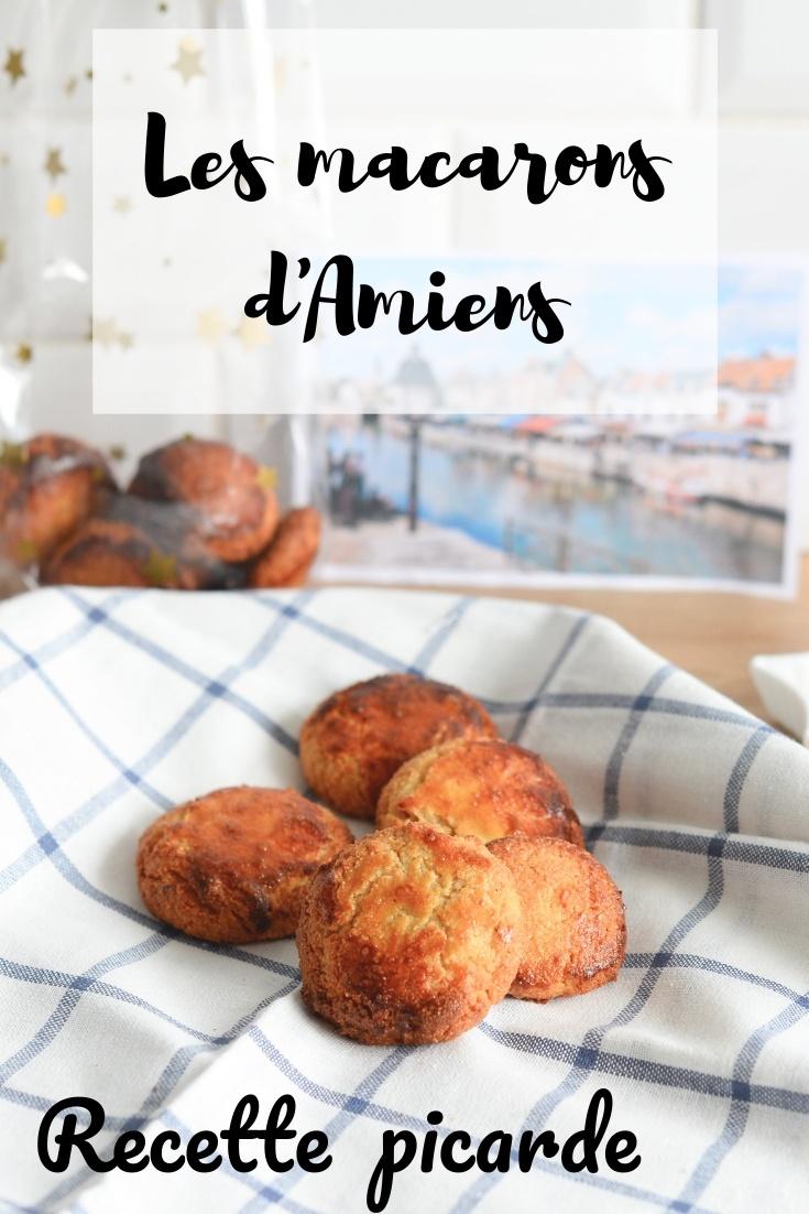 recette macarons d'amiens, hauts-de-france